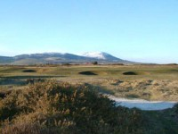 Criffel behind the 10th green