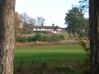 Clubhouse from 3rd tee