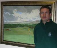 Course Manager George Pitts