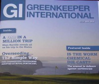 BIGGA, Greenkeepers international