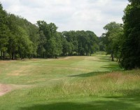 The 13th within the woods, enville golf club, finest courses