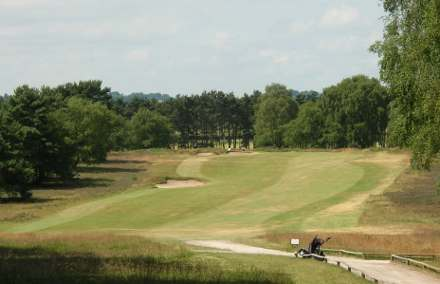 The Berkshire sandbelt feel 6th,enville golf club, finest courses