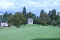 Loch Lomond golf club, 18th hole,