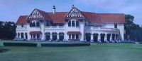 Royal culcutta golf club clubhouse, jute trade,