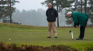 malcolm peake, ian morrison, berkshire golf club