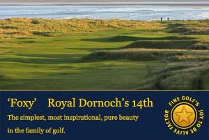 foxy, royal dornoch golf club,