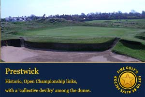 open golf championship, Prestwick golf club,
