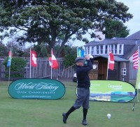 Alasdair Good, world hickory open, montrose golf links,