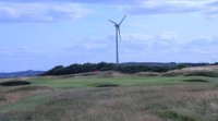 royal aberdeen golf club, scottish open golf, walker cup 2011, wind turbine