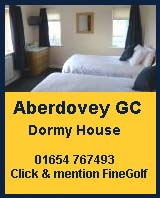 aberdovey golf club dormy house