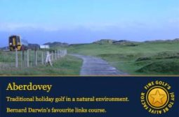 aberdovey golf club, finegolf the running game