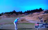 chambers bay golf, us open, udga mike davis, running golf,