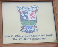 fraserburgh golf club,