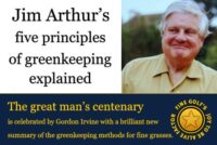 Jim Arthur's five principles of conservation greenkeeping
